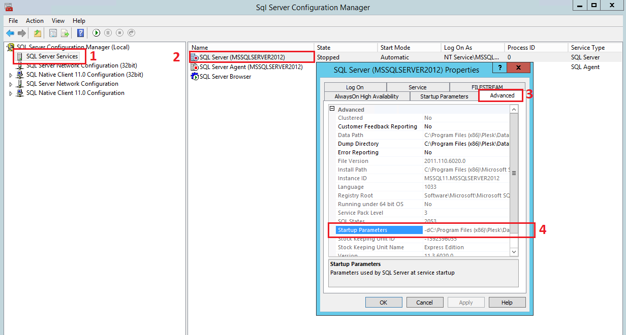 How To Change The Default Mssql Directory For Database Files