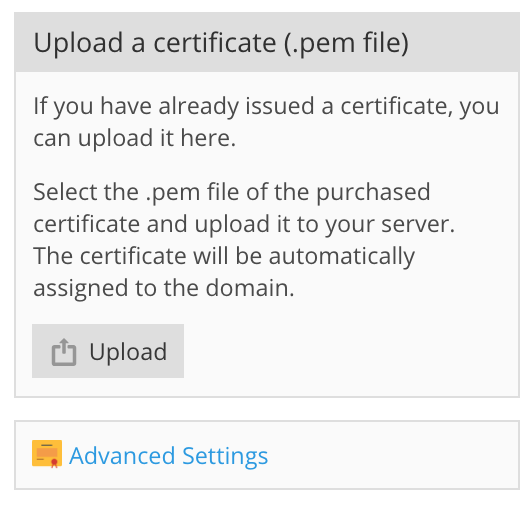 How To Install Ssl Certificate For A Domain In Plesk Plesk Help