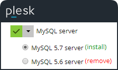 How to upgrade MySQL 5 6 to 5 7 on Windows – Plesk Help Center